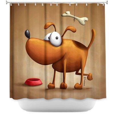 Dog II Shower Curtain
