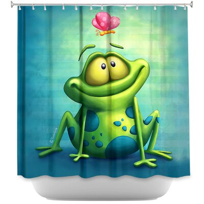 Frog II Shower Curtain