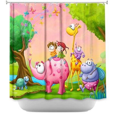 Traveling Wonders Shower Curtain