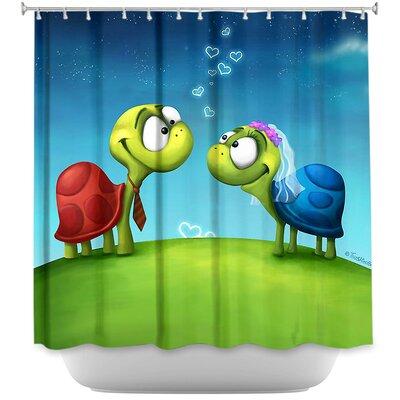 Turti and Turto Shower Curtain