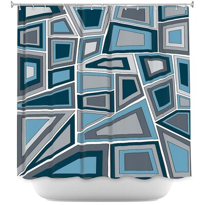 Lozada Mid Century Shower Curtain