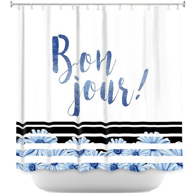 Heise Bonjour Shower Curtain