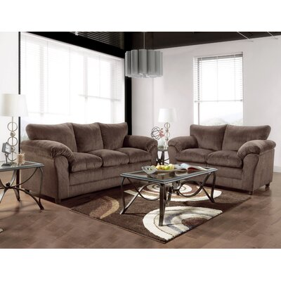 Endicott 2 Piece Living Room Set