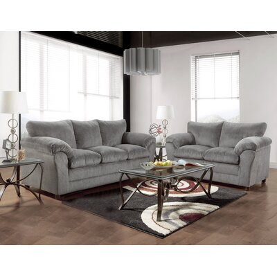 Endo 2 Piece Living Room Set