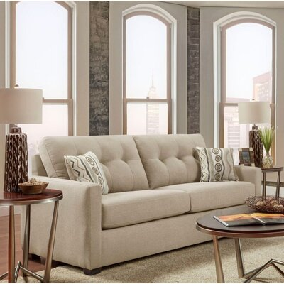 Caster Tufted Sofa