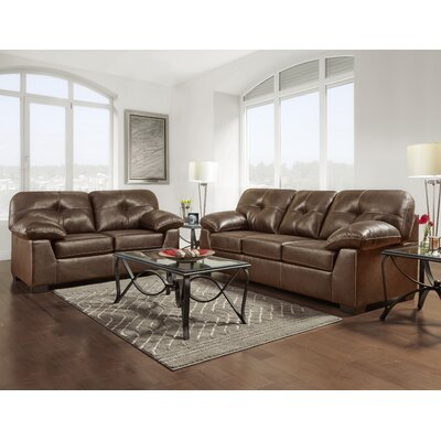 Stalter Tufted 2 Piece Living Room Set