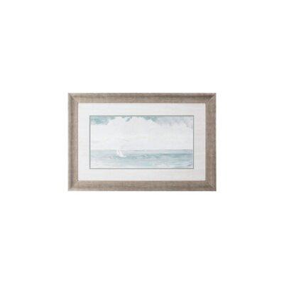 'Gentle Sailing I' Framed Graphic Art Print