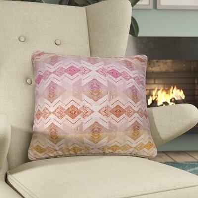 Miranda Square Throw Pillow Size: 18 H x 18 W x 6 D