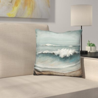 Sea Foam Throw Pillow