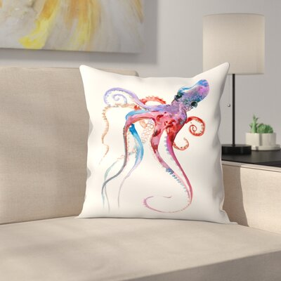 Suren Nersisyan Octopus 2 Throw Pillow Size: 16 x 16