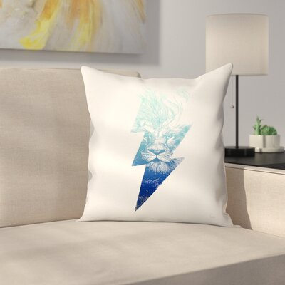 King Of The Clouds Throw Pillow Size: 18 x 18