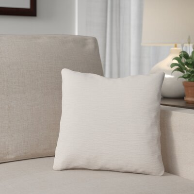 Danin Outdoor Throw Pillow Color: Snow, Size: Large