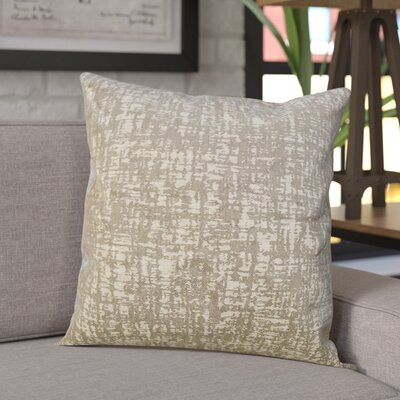 Wiley Woven Decorative Pillow Cover Color: Tan