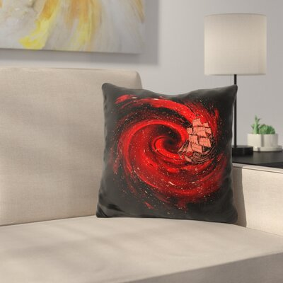 Journey to the Edge of the Univ Throw Pillow