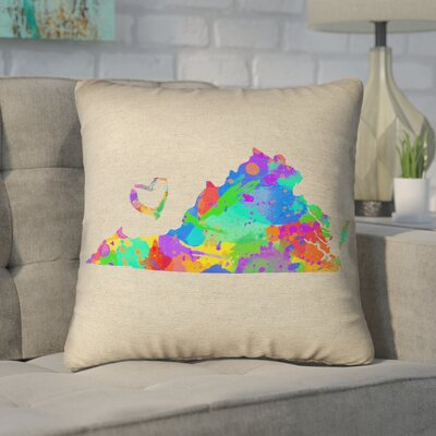 Sherilyn Virginia Love Size: 28 x 28, Type: Floor Pillow