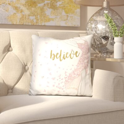 Blucher Dream Dancer Throw Pillow