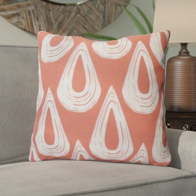 Caudell Throw Pillow Color: Orange