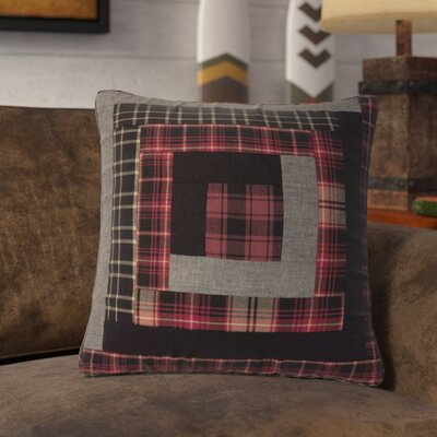 Dorval Patchwork 100% Cotton Throw Pillow