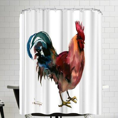 Suren Nersisyan Rooster Shower Curtain