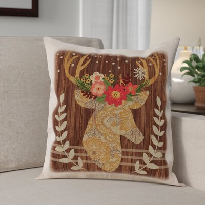 Alpine Lodge Throw Pillow