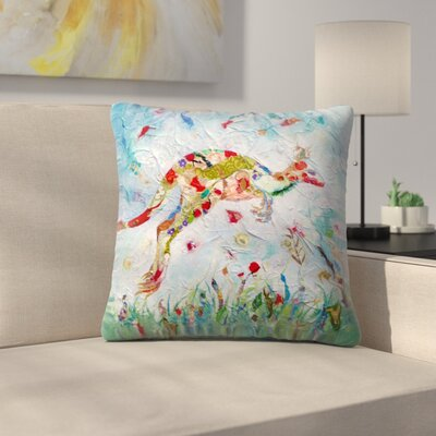 Sunshine Taylor Kangaroo Indoor/Outdoor Throw Pillow Size: 16 x 16