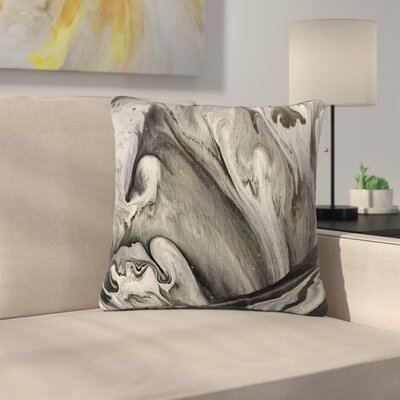 Abstract Anarchy Design Inner Chaos Abstract Outdoor Throw Pillow Size: 16 H x 16 W x 5 D