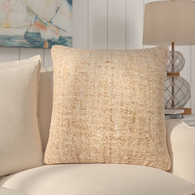 Waterford Textured 100% Silk Throw Pillow Fill Material: Down/Feather