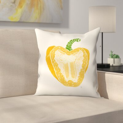 Pepper Throw Pillow Size: 20 x 20