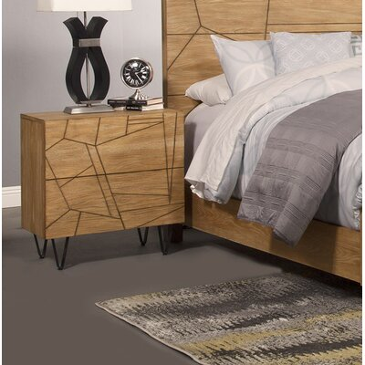 Riverton 2 Drawer Nightstand