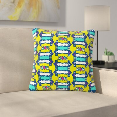 Miranda Mol Party Vibes Outdoor Throw Pillow Size: 16 H x 16 W x 5 D