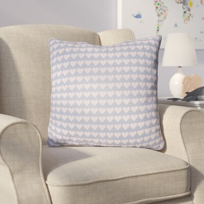 Colinda Square Throw Pillow Size: 22 H �x 22 W x 5 D, Color: Light Purple