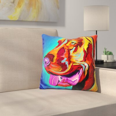 Viszla Throw Pillow