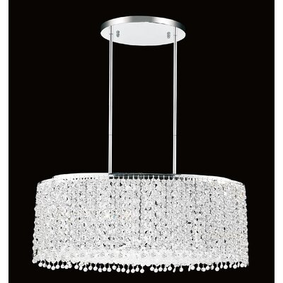 Glitz 9-Light Crystal Pendant