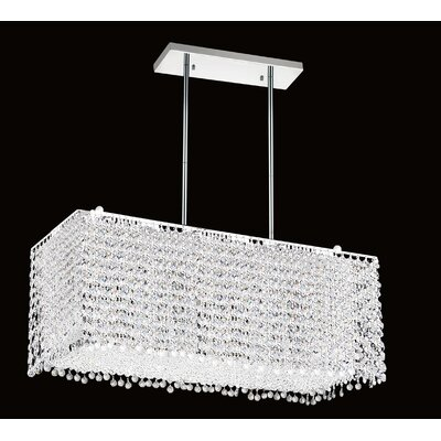 Glitz 8-Light Kitchen Island Pendant