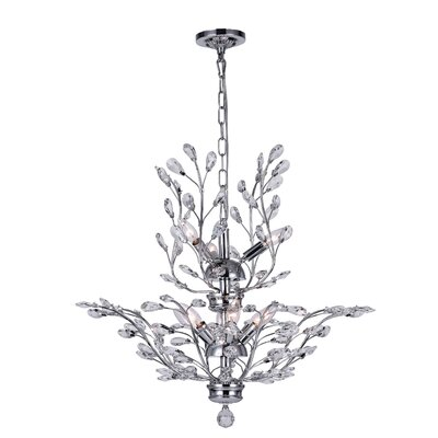 Ivy 9-Light Crystal Chandelier