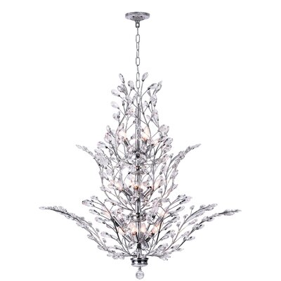 Ivy 18-Light Crystal Chandelier