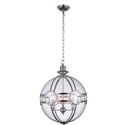 Beas 3-Light Globe Pendant