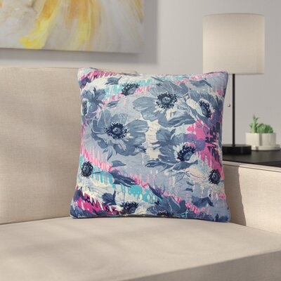Suzanne Carter Poppy Outdoor Throw Pillow Size: 18 H x 18 W x 5 D
