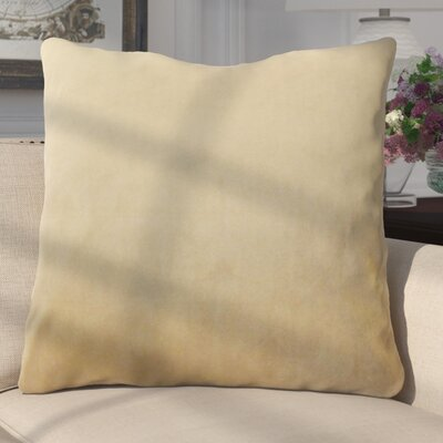 Aveneil Solid Floor Pillow Color: Latte