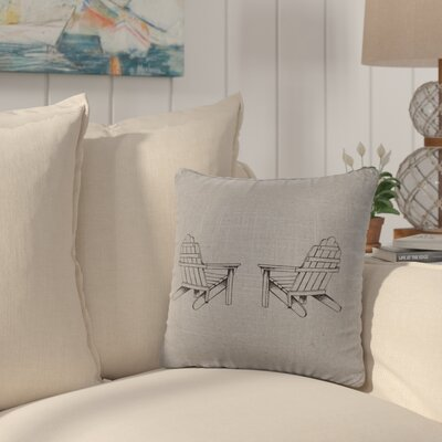 Bingaman Throw Pillow Color: Gray