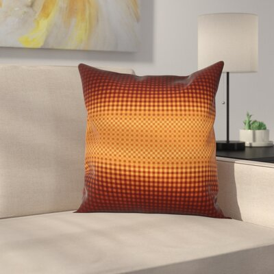 Mosaic CheckeSquare Pillow Cover Size: 24 x 24