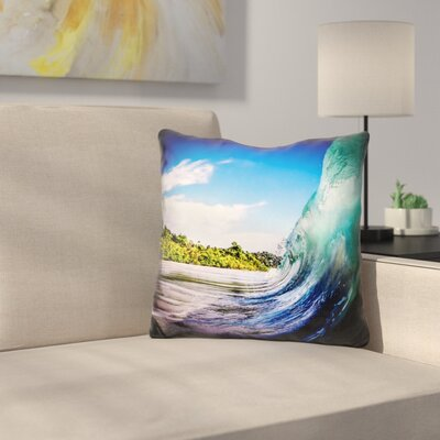 Marquise Wave Wall Throw Pillow