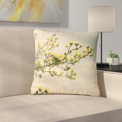 Angie Turner Magnolias Photography Outdoor Throw Pillow Size: 16 H x 16 W x 5 D
