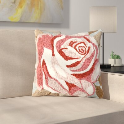 Ivey Rose Throw Pillow