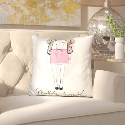 Isenhour Nevertheless Throw Pillow
