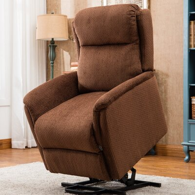 Duron Lift Chair Power Recliner Upholstery: Chocolate