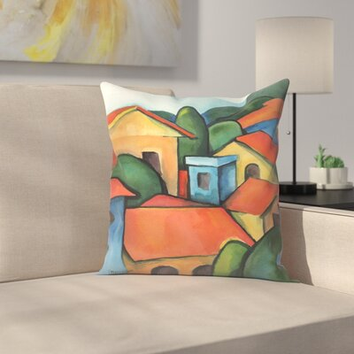 Peru1 Throw Pillow Size: 14 x 14