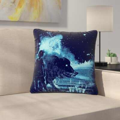 Frederic Levy-Hadida Nature Defenders Illustration Outdoor Throw Pillow Size: 16 H x 16 W x 5 D
