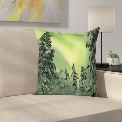 Dusk Sky Twilight Travel Cushion Pillow Cover Size: 16 x 16