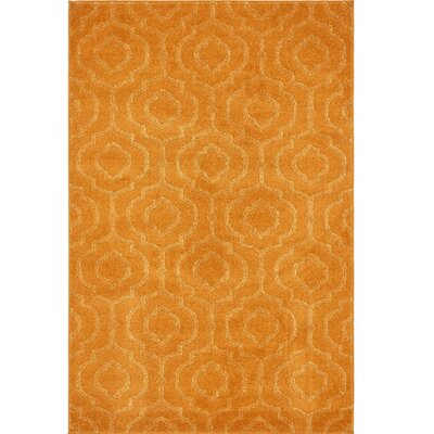 Mcreynolds Trellis Orange Area Rug Rug Size: Rectangle 4 x 6